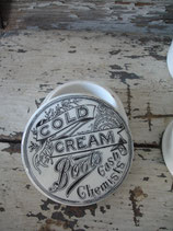 Shabby: Alte Deckeldose Keramik Topf England 1900