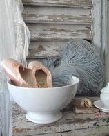 Sehr große alte Keramik Schale Petrus Regout