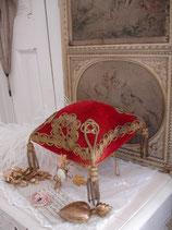 Kostbares antikes Brautkissen 19. Jahrhundert