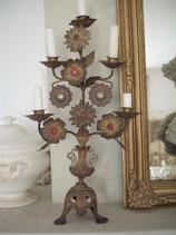 Prunkvoller antiker Kirchenleuchter / Altarleuchter