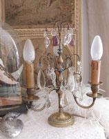 Antike große Girandole 3-flammig aus Frankreich