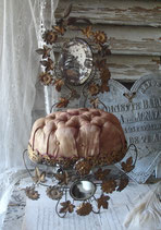 Shabby: Antiker Brautständer Kissen Frankreich um 1885
