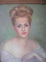 Zauberhaftes Porträt einer jungen Frau Frankreich