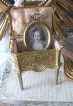 Antike große französische Schmuckschatulle 1900