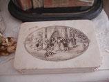 Wunderbare alte Bonbonschachtel aus Frankreich