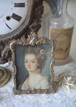 Antiker Bilderrahmen Rocaillen Frankreich