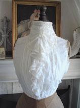 Zauberhafte Bluse / Corsage Frankreich um 1900