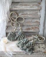 Dekorative antike Vorhang Quasten aus Frankreich