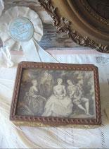 Dekorative antike Schmuckdose Frankreich
