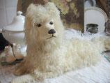 RAR: Antiker großer Pyjama Hund Jumeau Frankreich