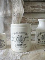 Seltener alter Marmeladentopf L. Deguise Frankreich