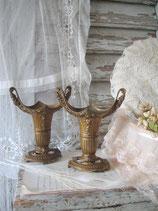 Dekorative alte Kaminvasen / Beisteller Frankreich