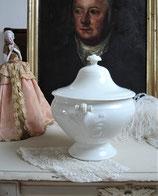 Shabby: Alte Porzellan Terrine Frankreich