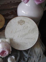 Wunderbare große alte Schokoladen Schachtel aus Frankreich