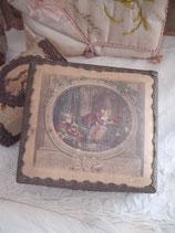 Zauberhafte alte Schmuckschachtel aus Frankreich