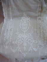 Wunderschöne antike Tüll Gardine Frankreich um 1880
