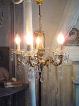 Zauberhafter alter Kronleuchter aus Frankreich - 5-flammig