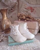 Zauberhafte antike viktorianische Baby Knopfschuhe