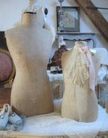 Shabby: Antike Kinder Schneiderbüste Frankreich