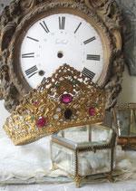 RAR: Traumhafte große antike Madonnen Krone Frankreich 19. Jahrh.