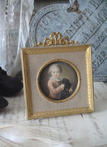 Antiker kleiner Bilderrahmen Louis XVI Frankreich