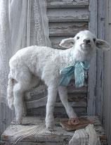 Taxidermy: Zauberhaftes weißes Lamm