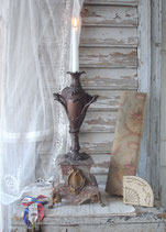 Wunderschöner antiker Kaminleuchter, Frankreich 19. Jahrh.