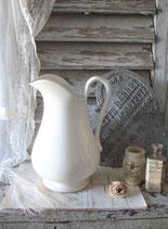 Große alte Keramik Kanne Petrus Regout