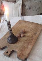 Shabby: Altes Holz Hackbrett aus Frankreich