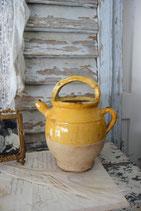 Antiker kleiner Terrakotta Krug aus Südfrankreich