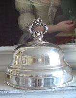 Antike versilberte Speise Cloche aus Frankreich