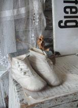 Sooo shabby: Antike viktorianische Baby Knopfschuhe