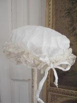 Antike Nachtmütze mit Rüschen Frankreich
