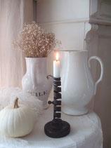Shabby: Antiker Kerzenständer aus Frankreich 19. Jahrhundert