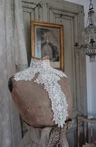 Wunderschöner antiker großer Spitzenkragen Frankreich