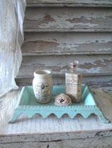 Dekorativer alter Spucknapf Gusseisen Frankreich