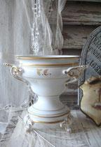 Wunderschöner antiker Marmeladentopf aus Frankeich