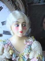 Antike große Teepuppe Jugendstil 1920