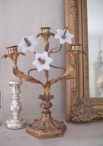 Antiker Kirchenleuchter / Altarleuchter aus Frankreich