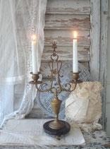 Wunderschöner antiker Kamin Kerzenständer, Frankreich