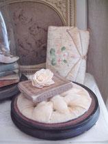Seltenes altes Holzplateau/ Brautständer Frankreich Boudoir