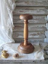 Dekorativer alter Hutständer Holz Frankreich