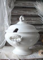 Shabby: Antike Keramik Terrine BOCH