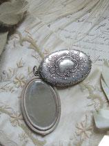 Wunderschönes antikes Spiegel Medaillon Frankreich