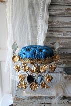 Antiker Brautständer Kissen Frankreich um 1885