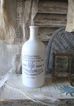 Shabby: Alte Keramik Flasche Paris Ende 19. Jahrhundert