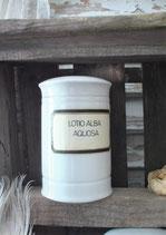 Antike Rösler Apothekergefäß aus Porzellan