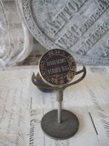 Antiker Siegel Wachs Stempel Rathaus Frankreich