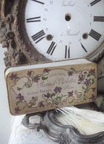 Wunderschöne alte Seifenschachtel Parma Violetta Paris 1900
