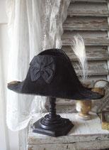 Dekorativer alter Napoleon Hut / Zweispitz British Royal Navy 1900